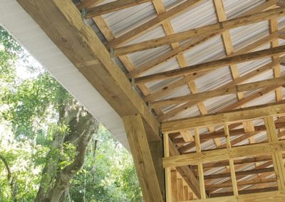 Custom 40ft Barn | Additions | Residential Gallery | McDonough Construction | Lakeland, FL